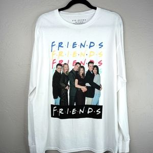 Friends the TV series graphic long sleeve tee